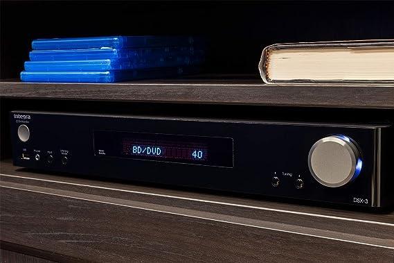 Integra Slim line 5.1-Channel 4K Network A/V Receiver Black (DSX-3)
