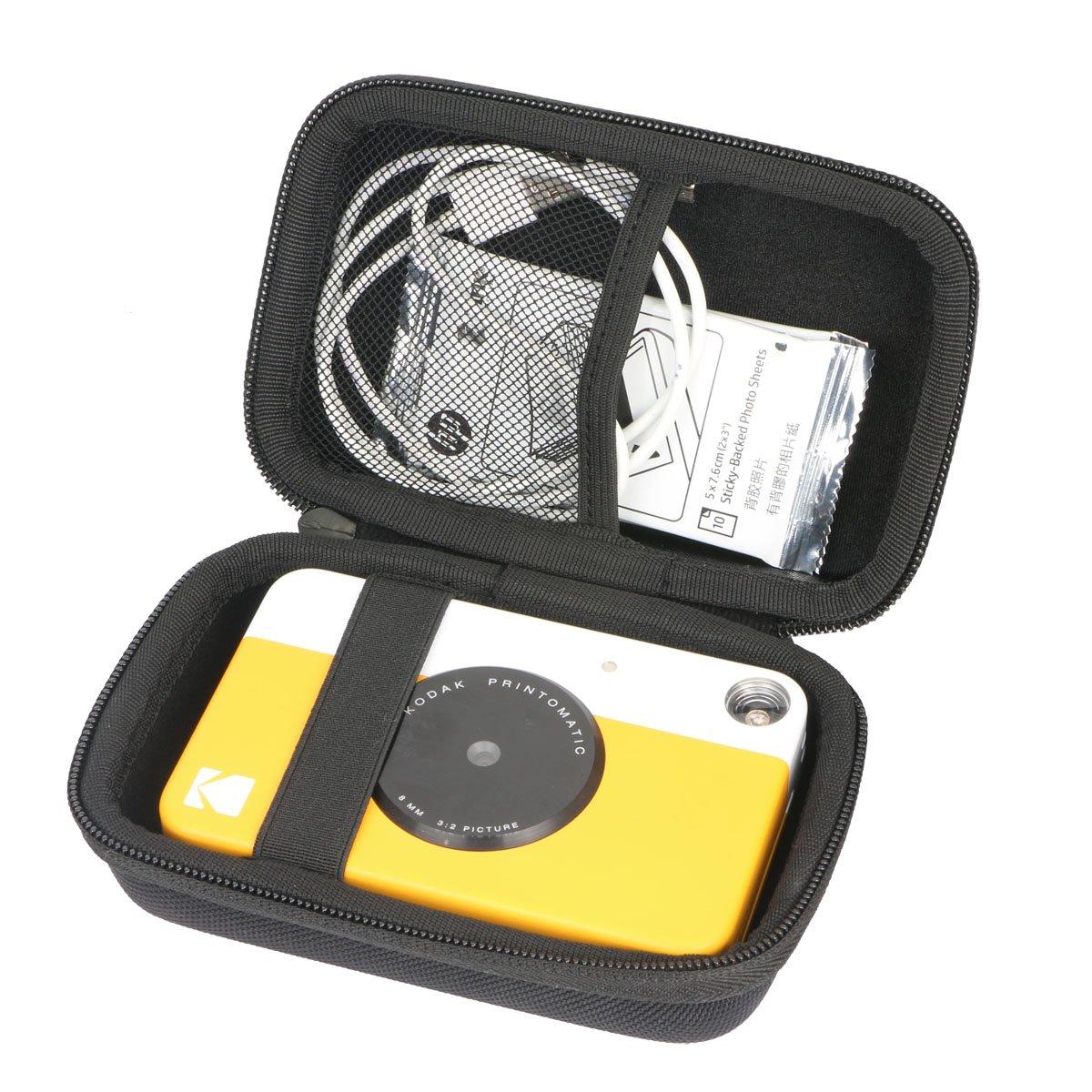 pour Kodak - Appareil Photo à Impression instantanée Kodak Printomatic EVA Dur Cas Voyage Etui Housse Sac Case by Khanka