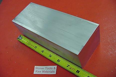 "1-1//2/"" X 2/"" ALUMINUM 6061 FLAT BAR 6/"" long T6511 Solid Plate Mill Stock 1.50/"""