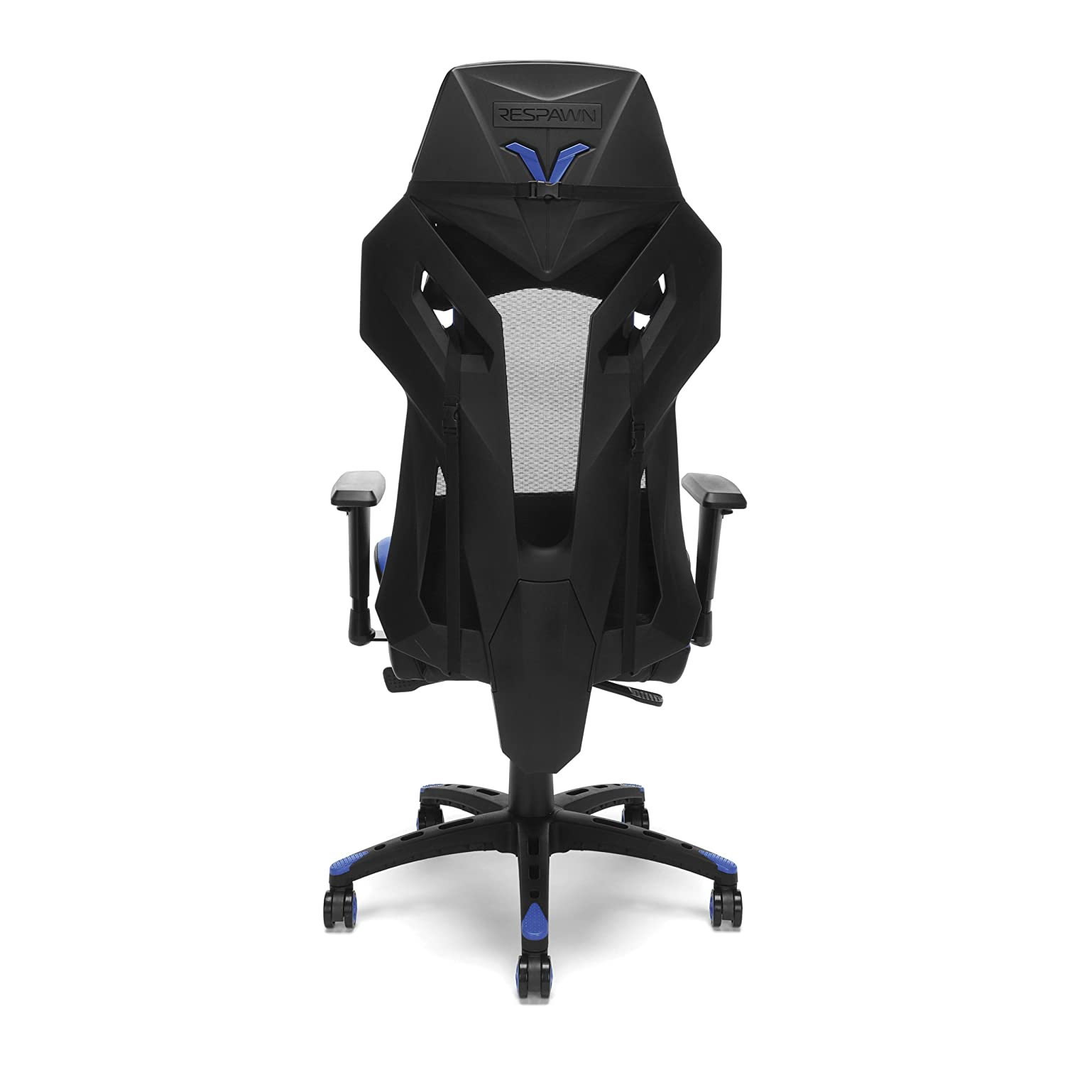 Excellent Respawn 205 Racing Style Gaming Chair In Blue Rsp 205 Blu Machost Co Dining Chair Design Ideas Machostcouk