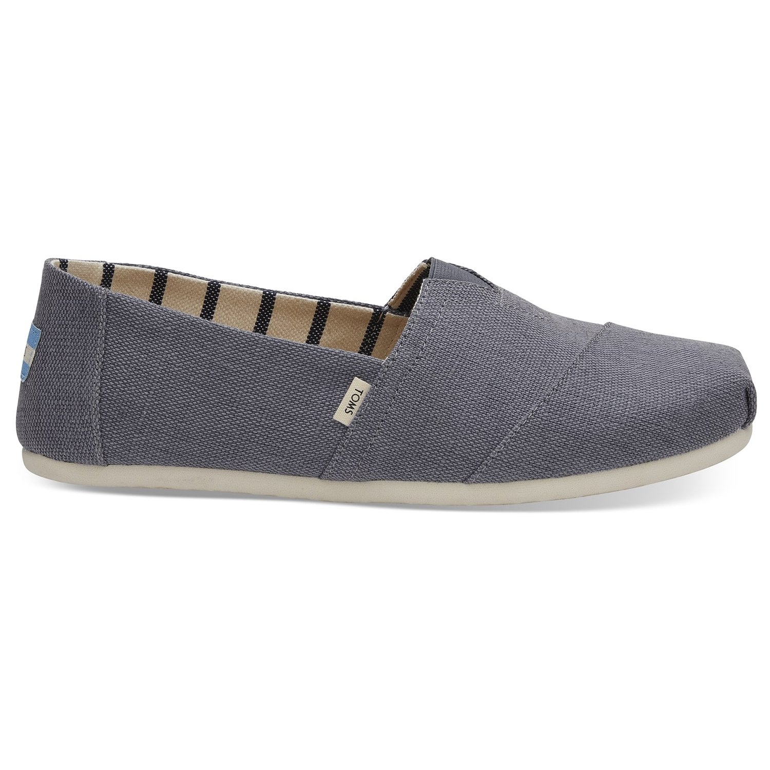 Amazon.com | TOMS Shade Heritage Canvas Mens Classic Alpargata 10012622 (Size: 12) | Loafers & Slip-Ons