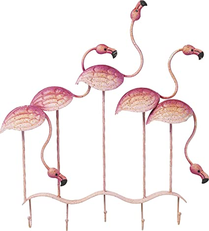 Kare Design - Perchero de Pared Flamingo Party tierische ...