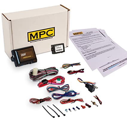 Amazoncom MPC Complete Add On Remote Car Start Kit For Select - 2018 acura rdx remote start