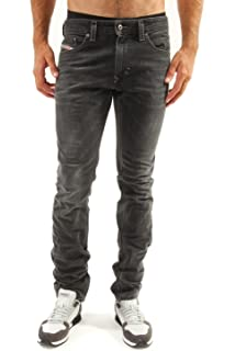 91532e36ccf Diesel Men's 0853t-00sr61 L.32 Jeans - Grey - W40: Amazon.co.uk ...