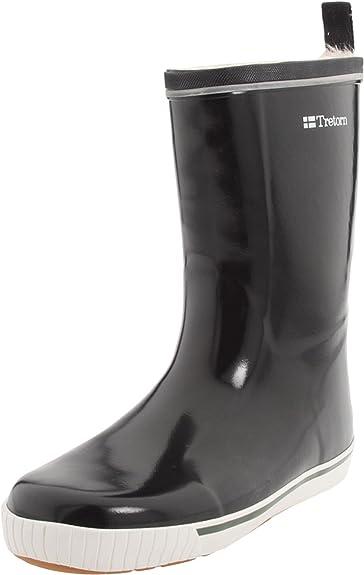 Tretorn Women's Skerry Vinter Shiny Rain Boot,Black,35 EU/(US Women's