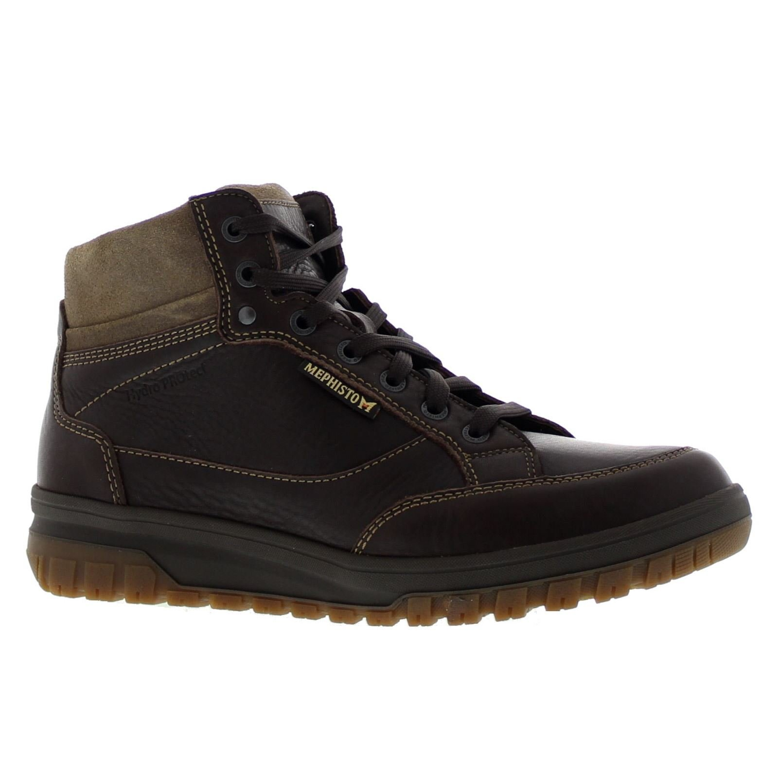 Mephisto Mens Paddy Brown Leather Boots 9.5 US