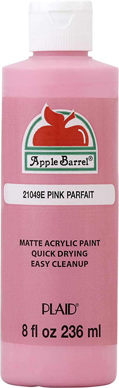 Apple Barrel Acrylic Paint (8 Ounce), Pink Parfait, 8 Fl Oz