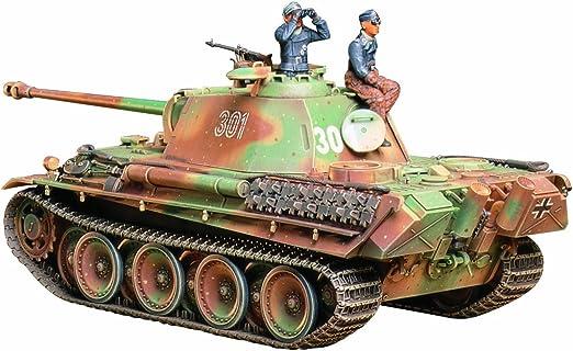 Tamiya 35176 - Maqueta Para Montar, Tanque Panther G Última Versión Escala 1/35: Amazon.es: Juguetes y juegos