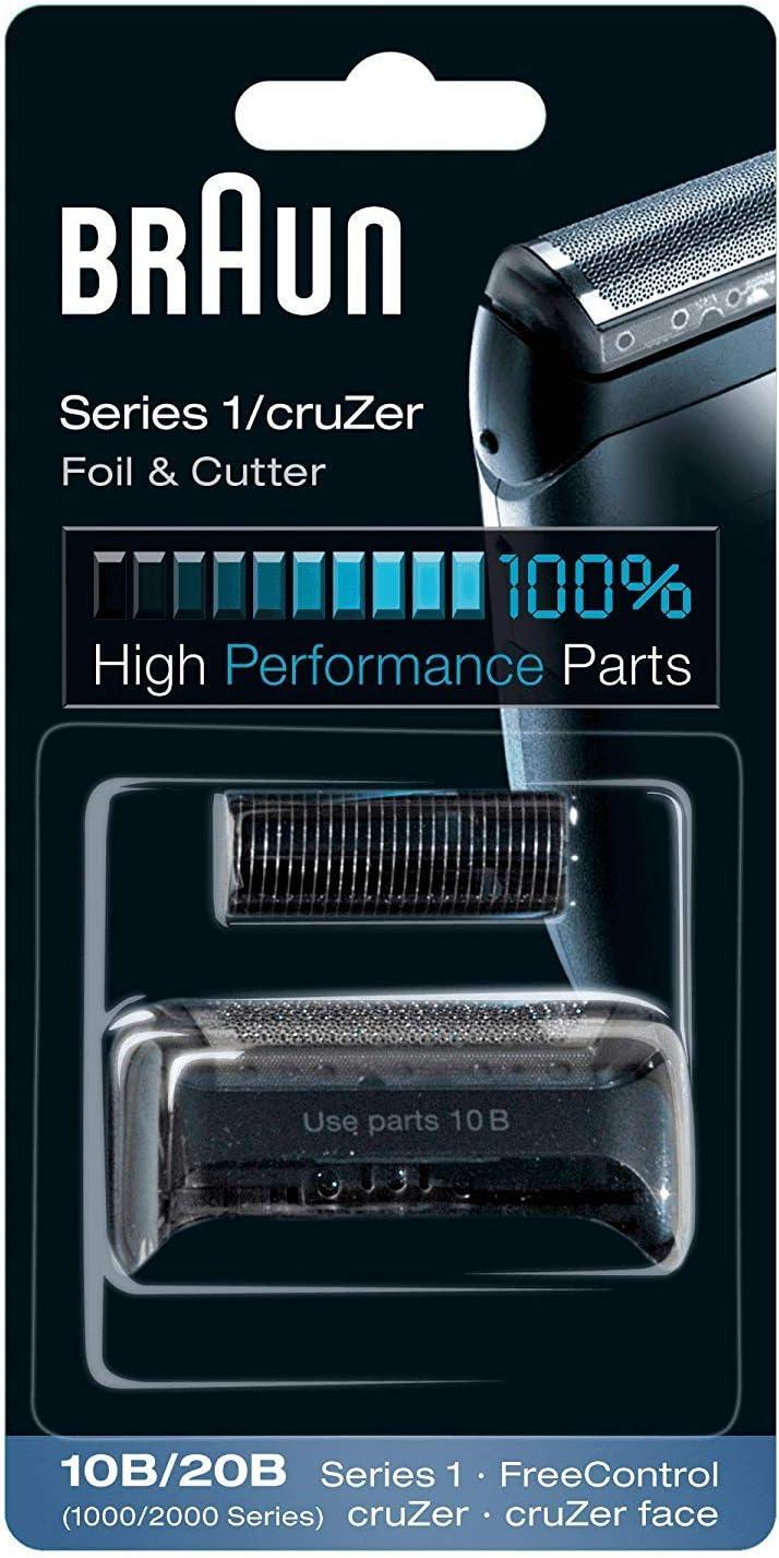 Braun - Láminas 10B - Láminas de recambio para afeitadoras Series 1/FreeControl: Amazon.es: Salud y cuidado personal