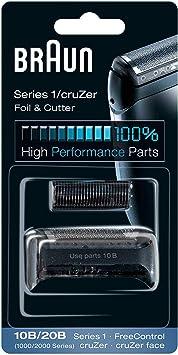 Braun - Láminas 10B - Láminas de recambio para afeitadoras Series 1/FreeControl: Amazon.es: Salud y cuidado ...