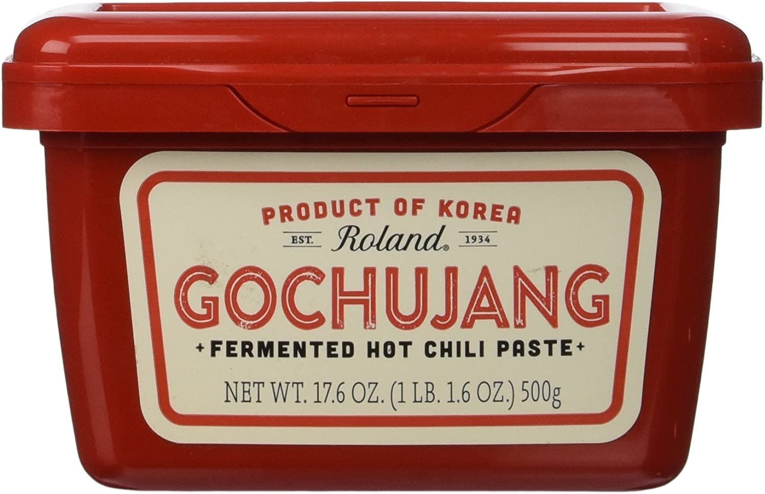 Roland Fermented Hot Chili Paste, Gochujang, 17.6 Ounce