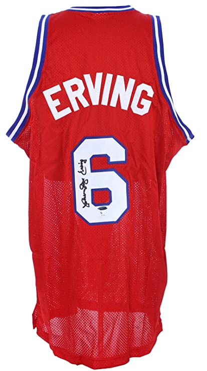 size 40 3d7aa ec60c Julius Erving Dr J Signed Jersey Tristar Signing 76ers at ...