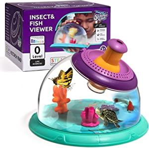 Science Can Critter Case Science Viewer, Science Habitat Insect Catcher Kit for Kids 3 Years Old