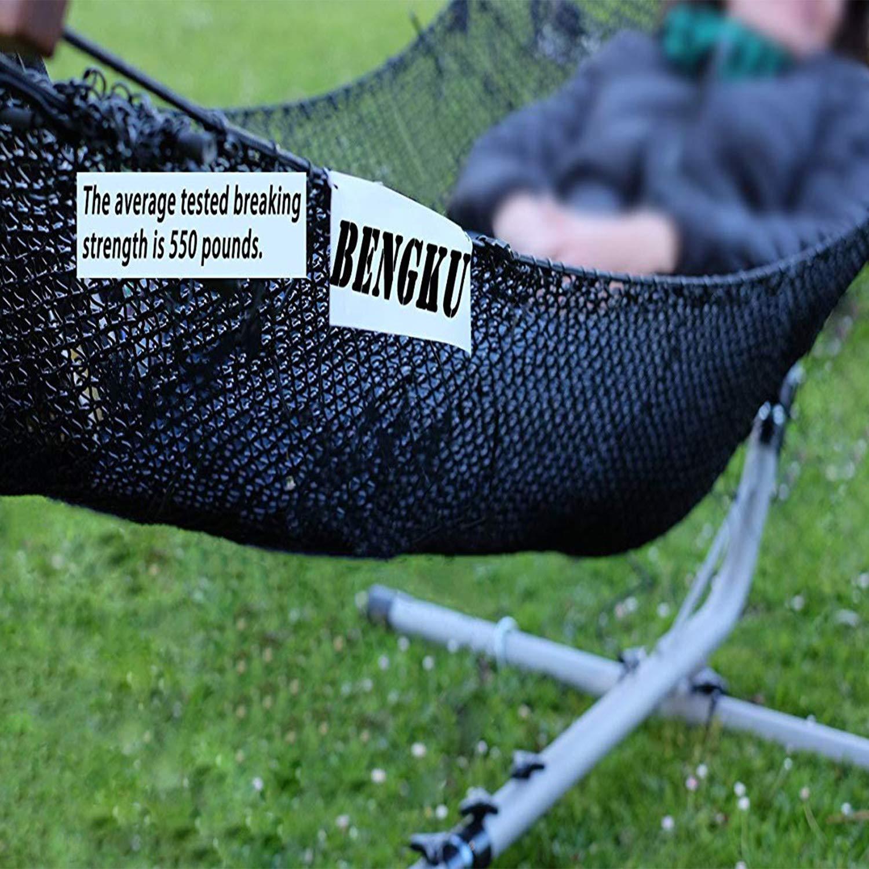 BENGKU Outdoor Survival Mil-SPEC 550lb Paracord/Parachute Cord(MIl-C-5040-H),100Feet,100% Nylon. (Black, 100) by BENGKU (Image #4)