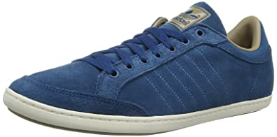 adidas Originals Mens Plimcana Clean Low2 Trainers D65622 Tribe BlueST Cargo Khaki