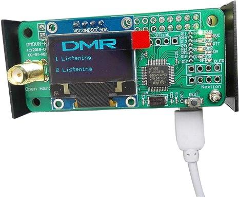 U//V MMDVM hotspot Support P25 DMR YSF Antenna OLED raspberry pi zero Case