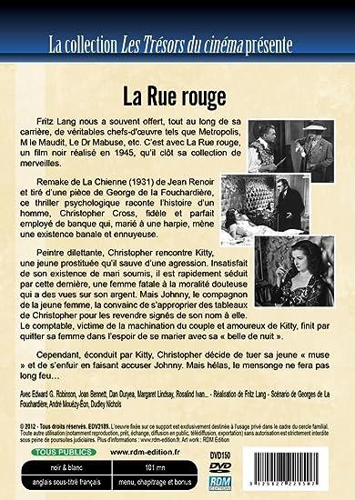 La rue rouge [Francia] [DVD]: Amazon.es: Robinson, Edward G ...
