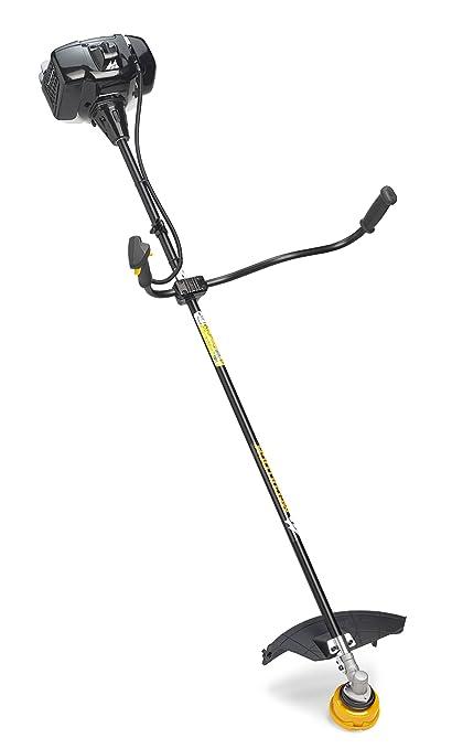 McCulloch 00096-76.834.01 B43 BT Desbrozadora con un ancho de trabajo de 42 cm, cabezal de corte, función soft start, asa ajustable