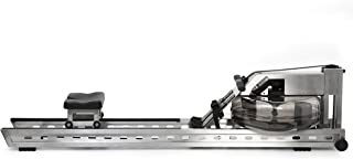 product image for WaterRower S1 Rowing Machine in Brushed Stainless Steel with S4 Monitor