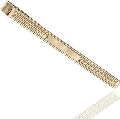 Pinza de corbata para hombre de oro de 9 quilates 375 Corbata ...