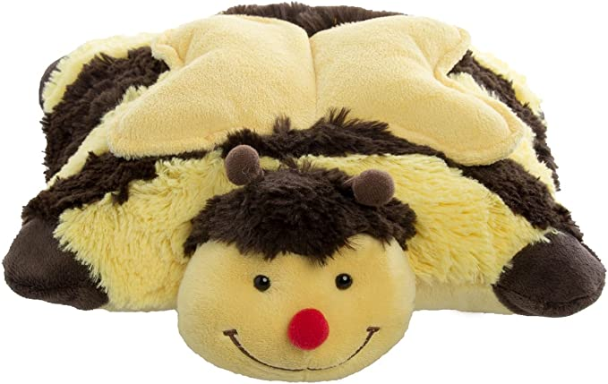 NEW Pillow Pets Pee-Wees Penguin Panda Bumble Bee Chenille Slippers