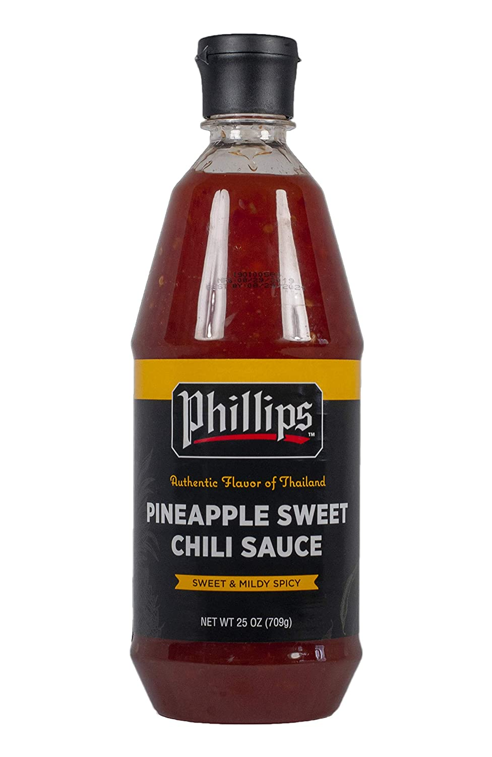 Amazon Com Pineapple Sweet Chili Sauce In A 25 Oz Squeeze Bottle Used In Phillips Seafood Restaurants Worldwide Grocery Gourmet Food