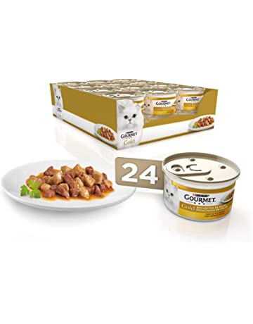 Purina Gourmet Gold Bocaditos en Salsa comida para gatos con Pollo e Higado 24 x 85