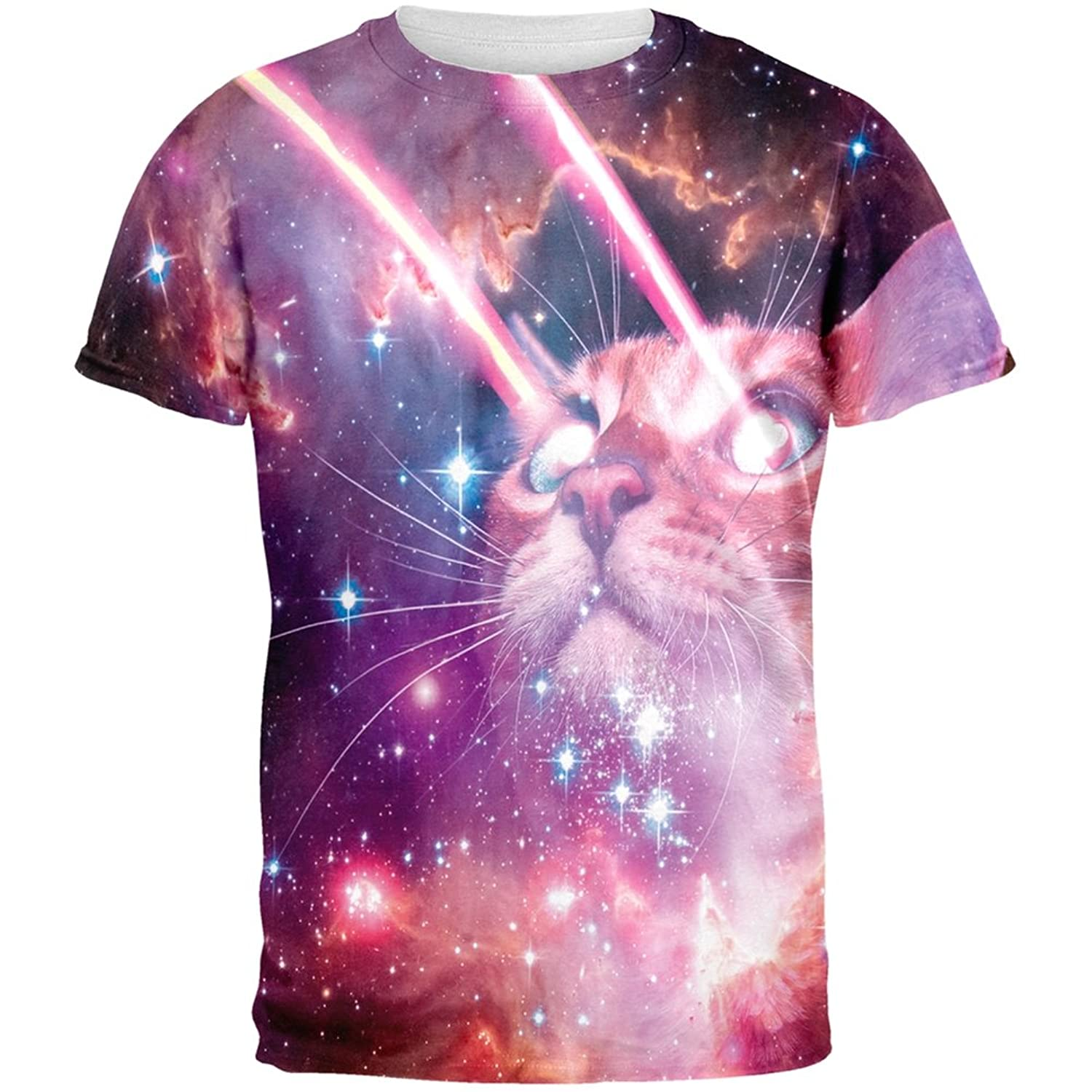 Laser cats in space shirt