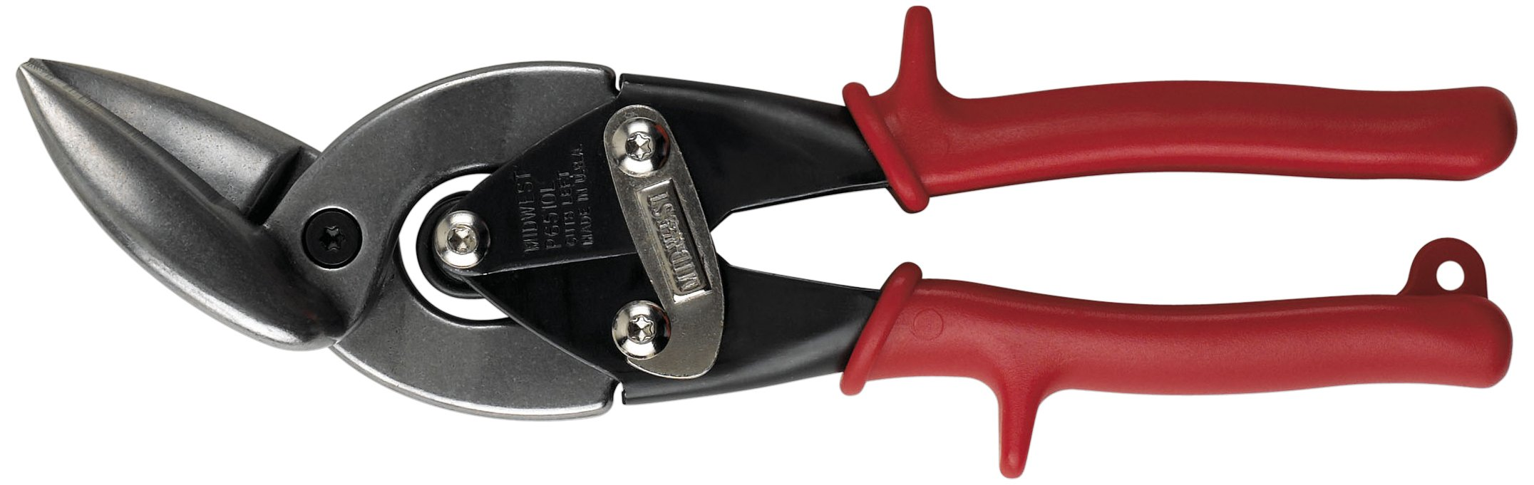 Wright Tool 9P6510L Left Cutting Midwest Offset Snips