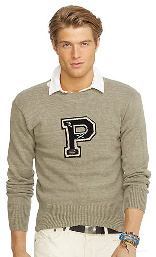 Men's Vintage Style Sweaters – 1920s to 1960s Crewneck Varsity Sweater  AT vintagedancer.com