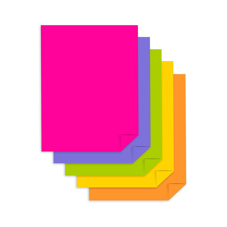 "/""Everyday/"" 5-Color Assortment 24 lb//89 gsm 99609 Astrobrights Color Paper 8.5/"" x 11/"" 1000 Sheets"