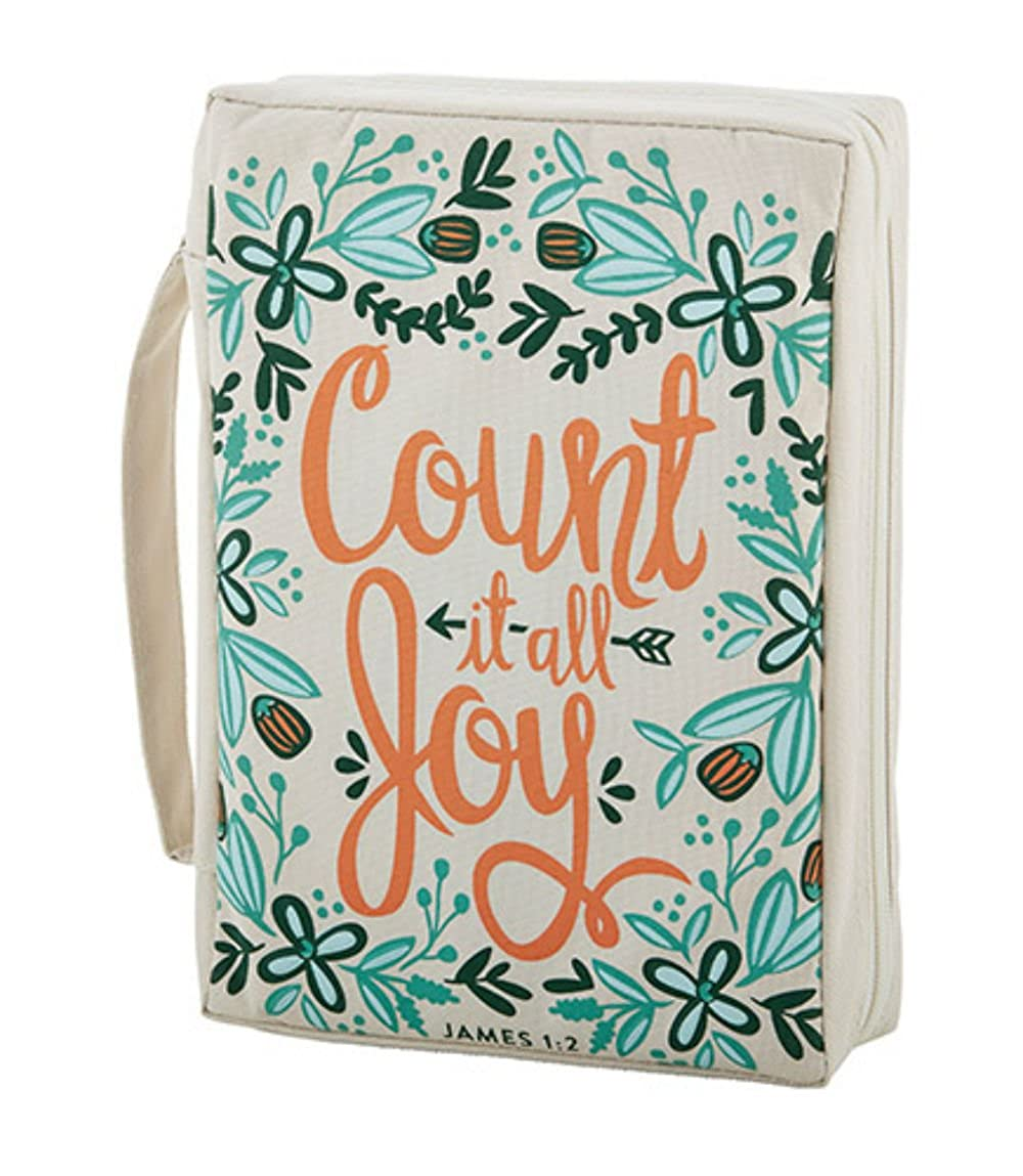 Set of 2 Count It All Joy Bible Cover