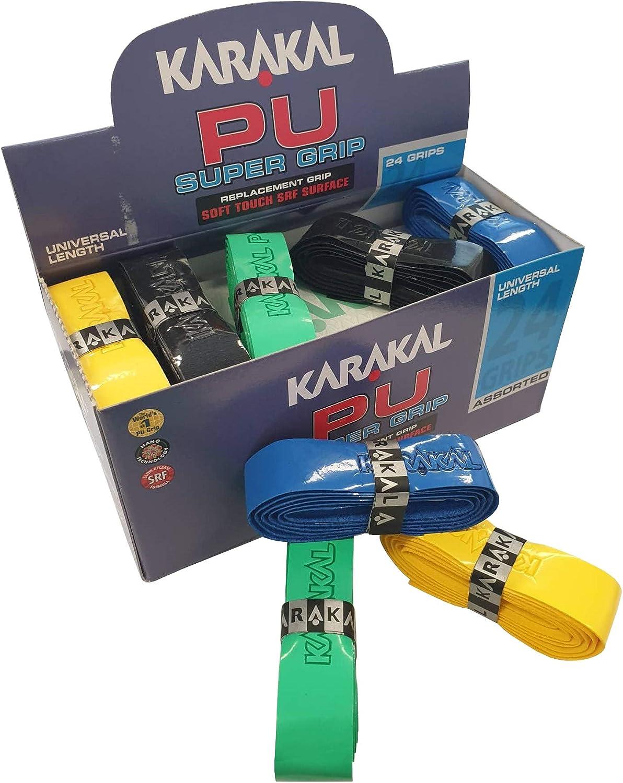 Karakal PU Super Grip Box 24 Multi Replacement Grip