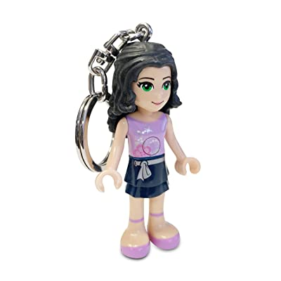 Santoki LEGO Friends Emma LED Light Keychain, 2.75-Inch: Toys & Games