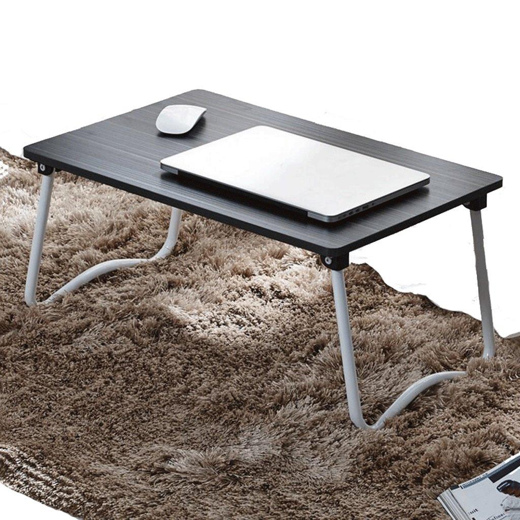 GAOLILI シンプルな学生寮でラップトップのベッドテーブルを書くラーニングデスク小さなデスクの折り畳み式レイジーテーブル (色 : B) B07DNRK5QC B B