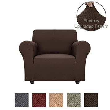 Wondrous Obytex Stretch Chair Cover Polyester And Spandex Upgrade Pattern Couch Covers Dog Cat Pet Slipcovers Furniture Protectorsmachine Washable Chair Gmtry Best Dining Table And Chair Ideas Images Gmtryco