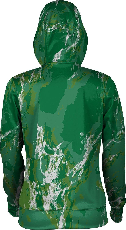 ProSphere George Mason University Womens Zipper Hoodie Marble School Spirit Sweatshirt