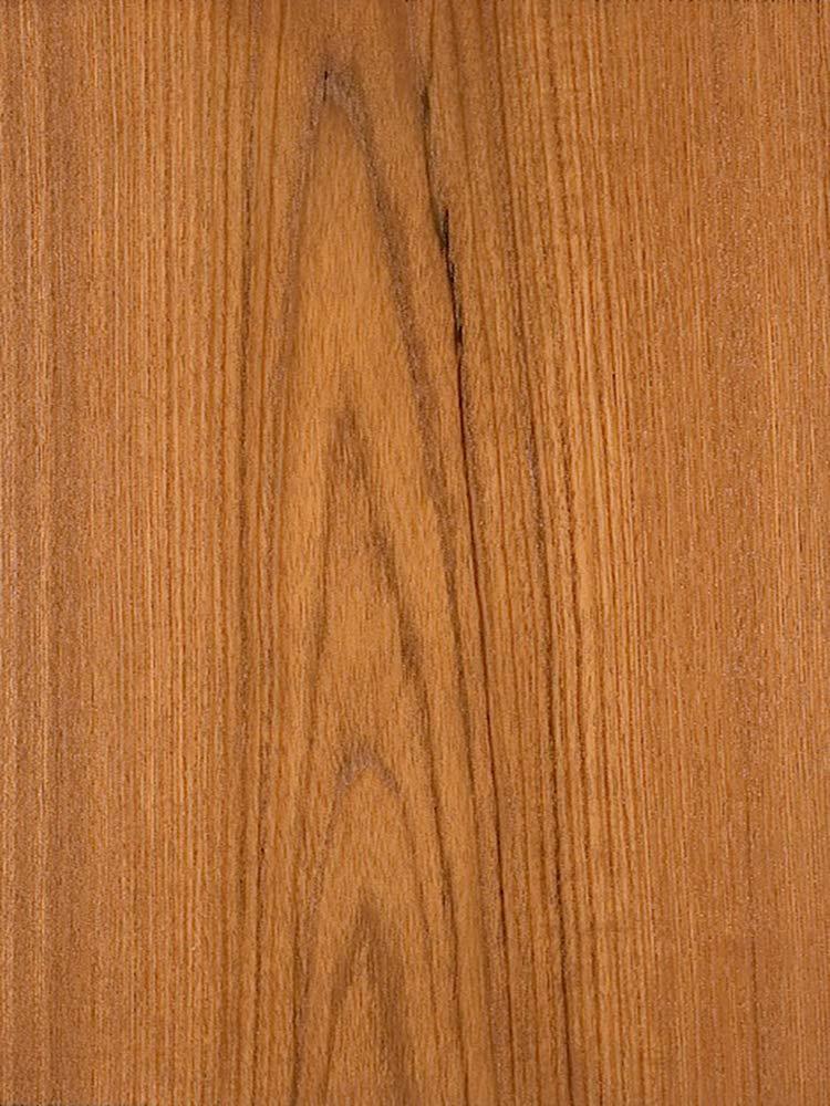 Wood Veneer, Teak, Flat Cut, 2 x 8, 10 mil Paper Backer by Veneer Tech
