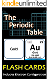 The Periodic Table Flash Cards Illustrated: Double Sided, includes Electron Configuration