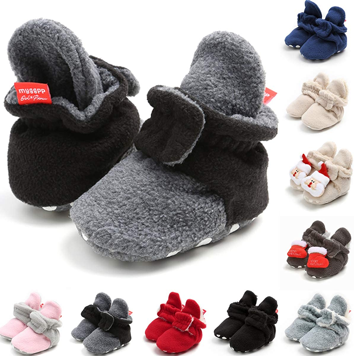 Baby Mary Jane Flats Princess Dress Shoes Soft Baby Crib Shoes Tuoting Infant Baby Girl Shoes