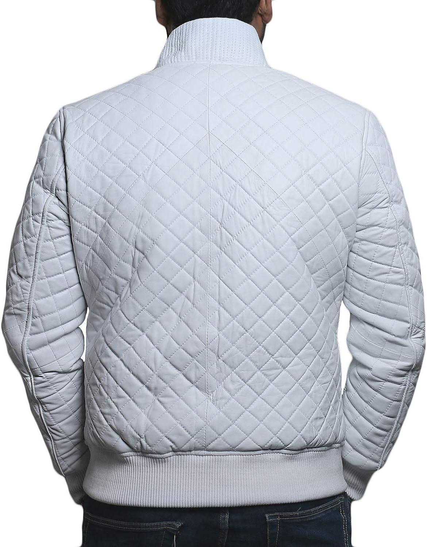 Black, Bomber Jacket 1801006 Laverapelle Mens Genuine Lambskin Leather Jacket