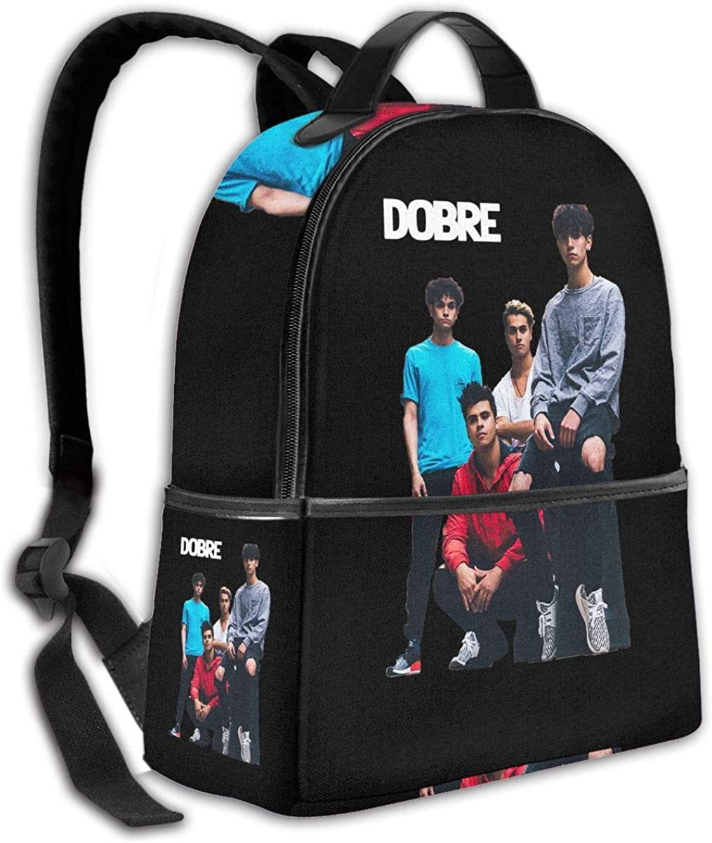 PROTHING Dobre Brothers Merch Fashion Backpack Laptop School Bag for Kids