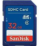 SanDisk 32GB SDHC Flash Memory Card (SDSDB-032G-B35) (Label May Change)