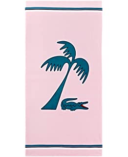 Lacoste Murphy Beach Towel Pink