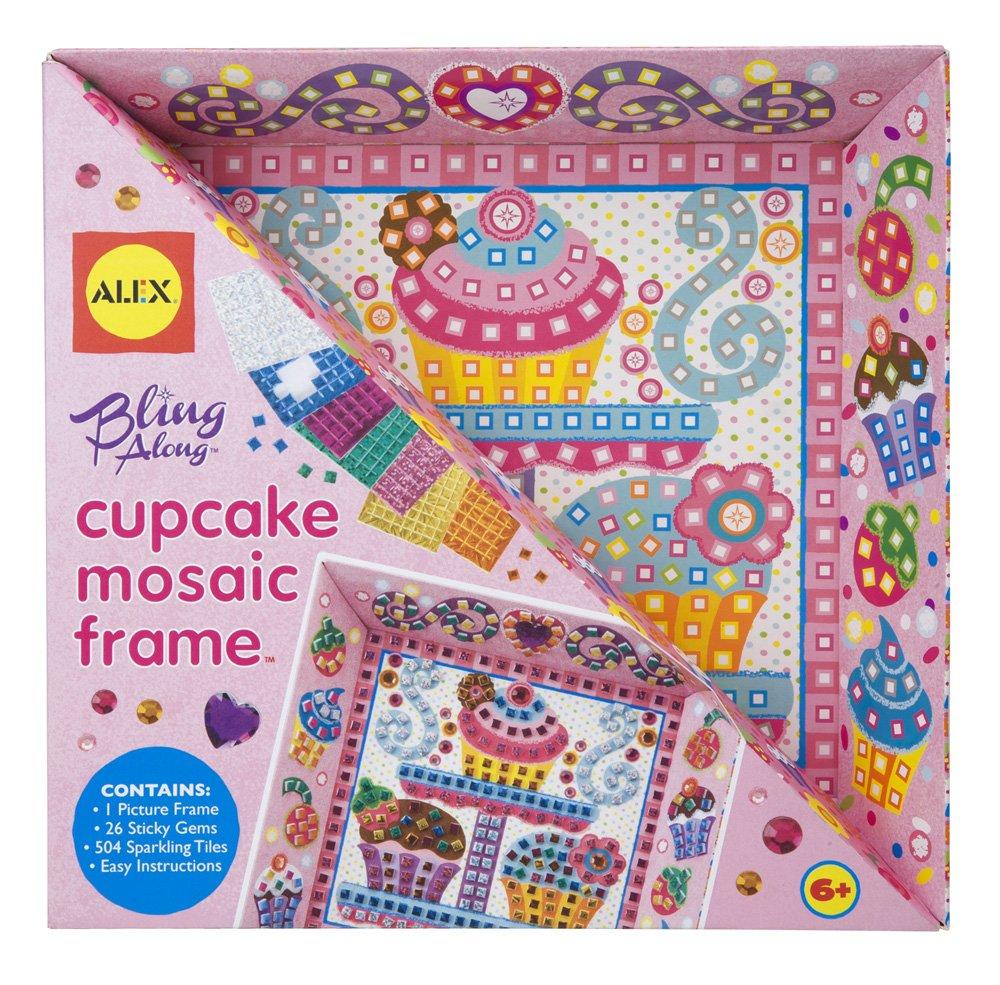 Amazon.com: ALEX Toys Craft Bling Along Frames Cupcake: Toys & Games