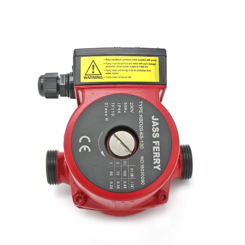 JASS FERRY Central Hot Water Circulation Systems Heating Circulator Pumps Replacement KBD20-6S-130 60 decimetres