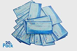 ClinicalGuard® HCG Pregnancy Test Strips (Individually-Sealed, Pack of 20)