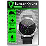 ScreenKnight® Garmin Vivo Active 3 Screen Protector - Military Shield