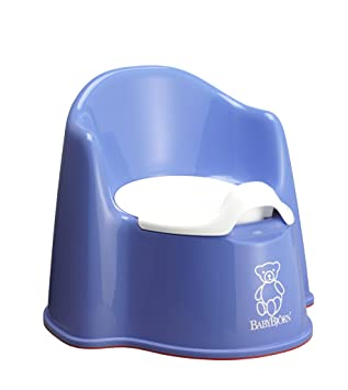 4519c3c1402 Image Unavailable. Image not available for. Colour  BABYBJÖRN Potty Chair (Ocean  Blue)