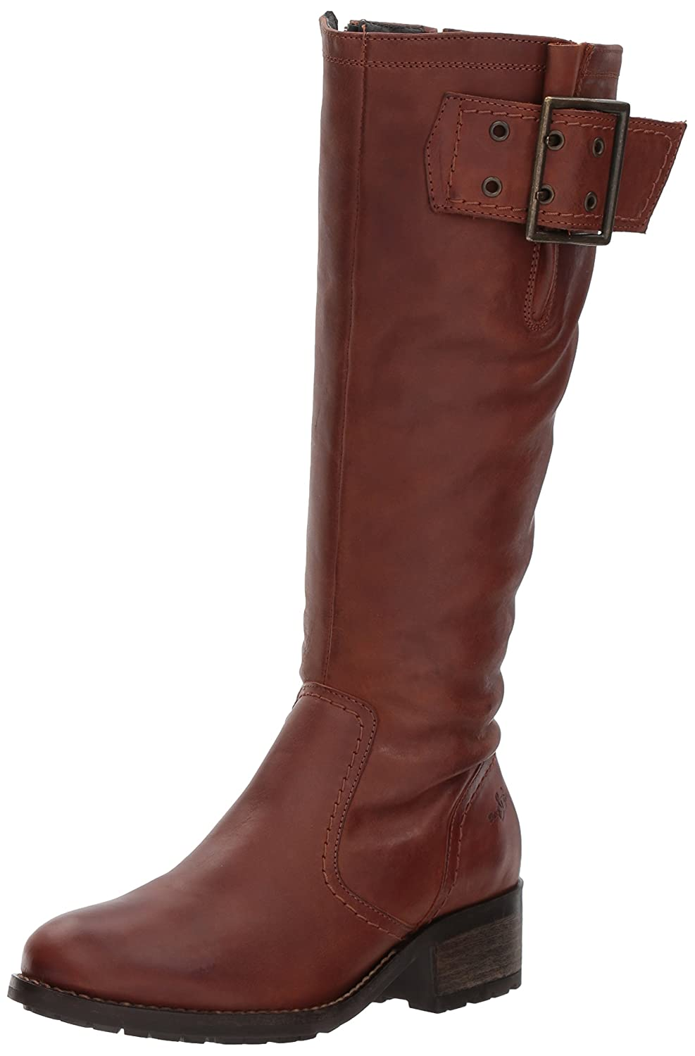 Bos. & Co. Women's Lawson Knee High Boot B06WWJS8DY 40 M EU (9-9.5 US)|Cognac Varse Leather